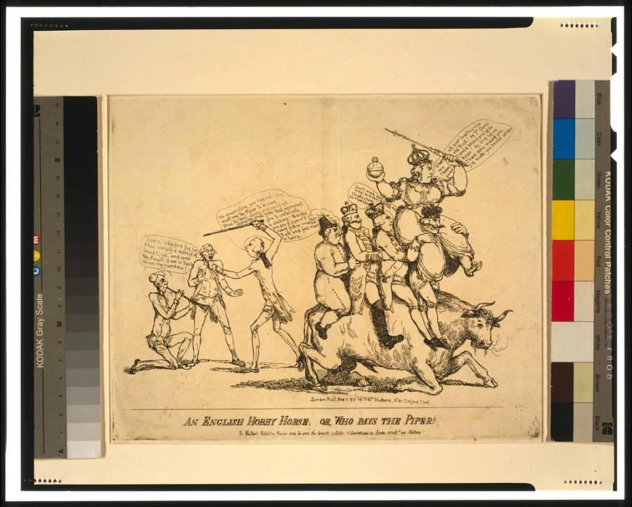 Catherine The Great Political Cartoon