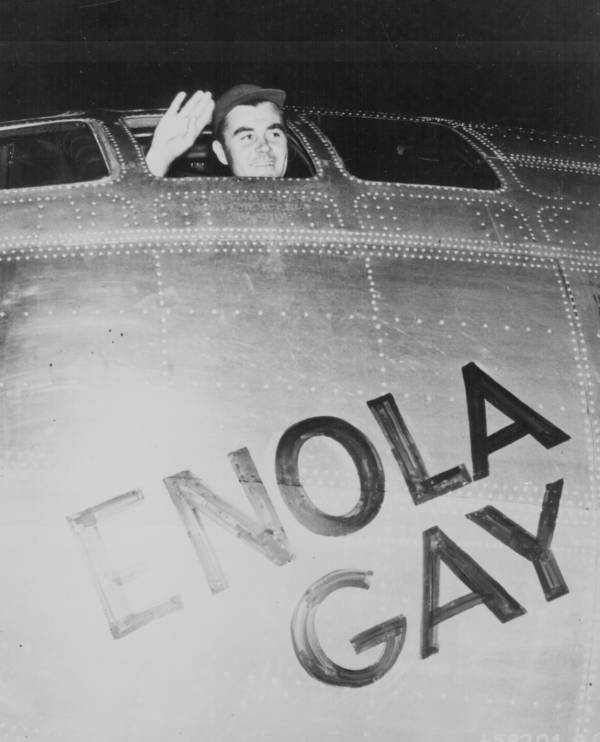 Enola Gay Before Takeoff