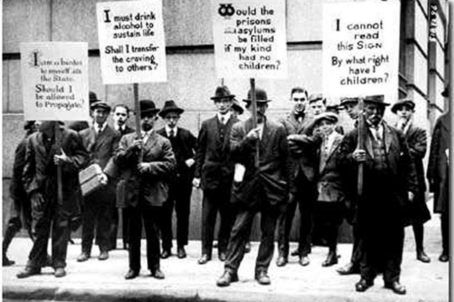 Eugenics Protest