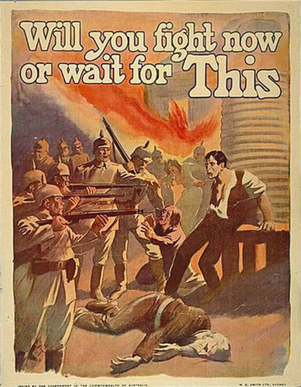 World War 1 Propaganda Posters Used By The U.S. Government