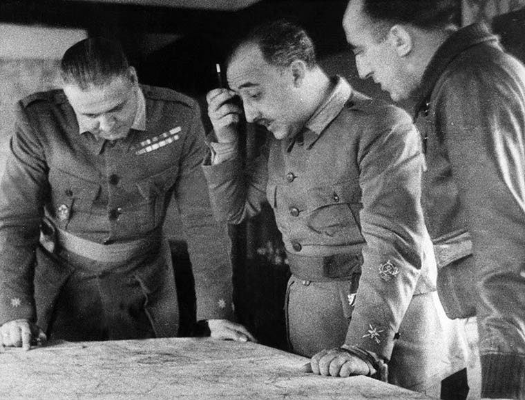 General Franco During Spanish Civil War