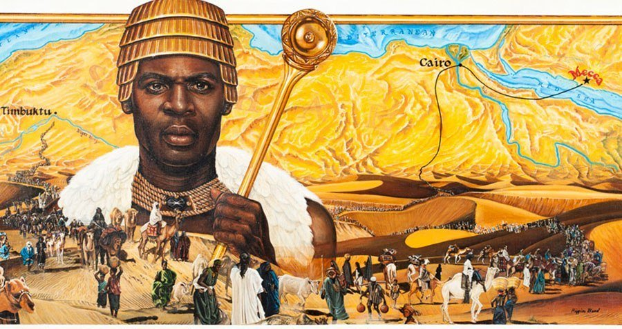 Gold Mansa Musa