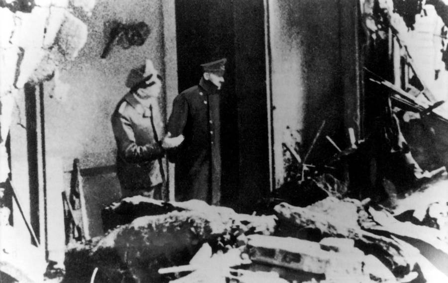 Last Photograph Of Adolf Hitler