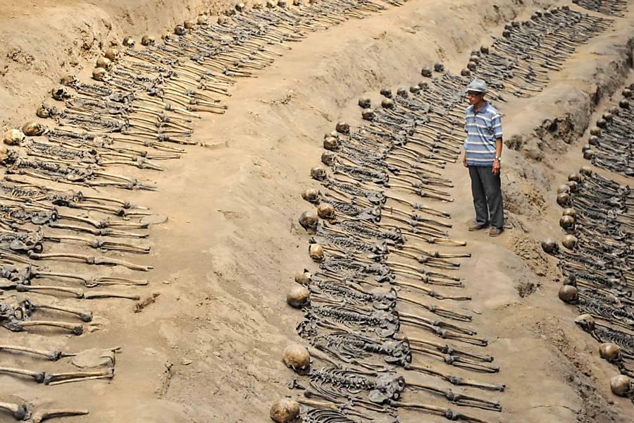 Japan Atrocity Mass Grave