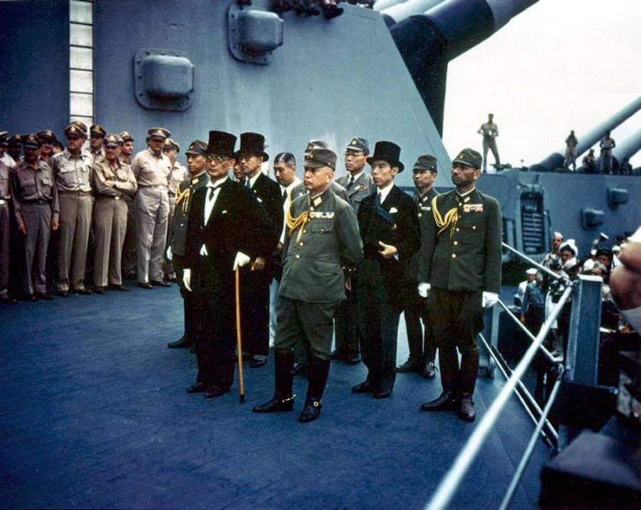 Japanese Surrender In World War II