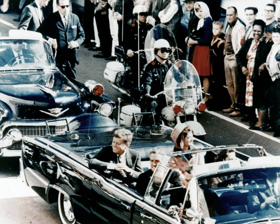Jfk In Car