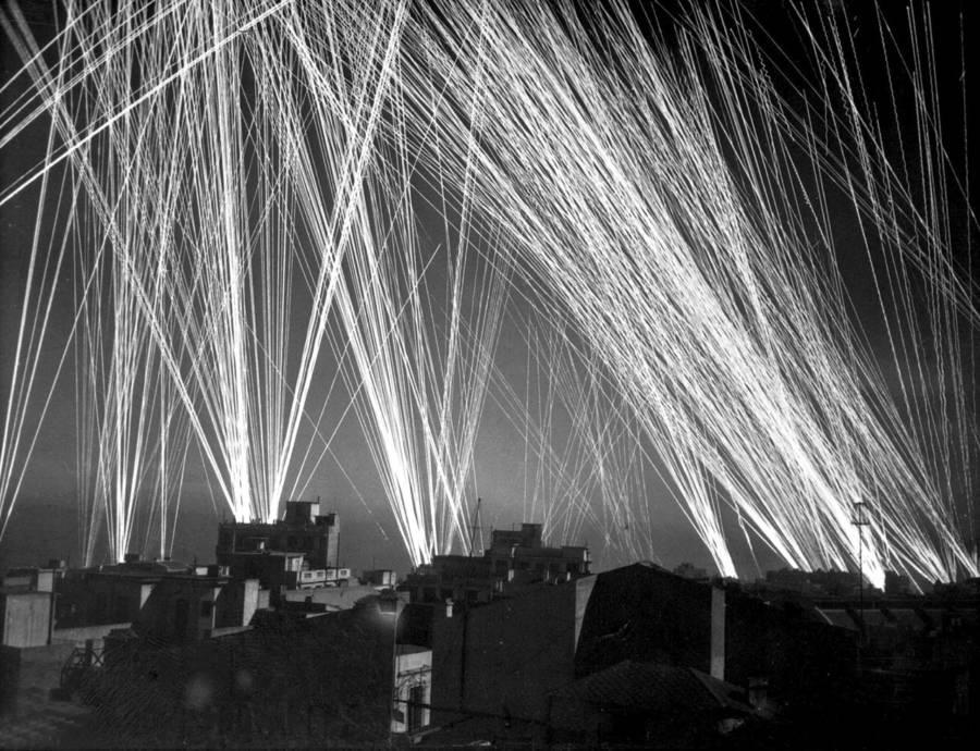 Luftwaffe Raid In Algeria