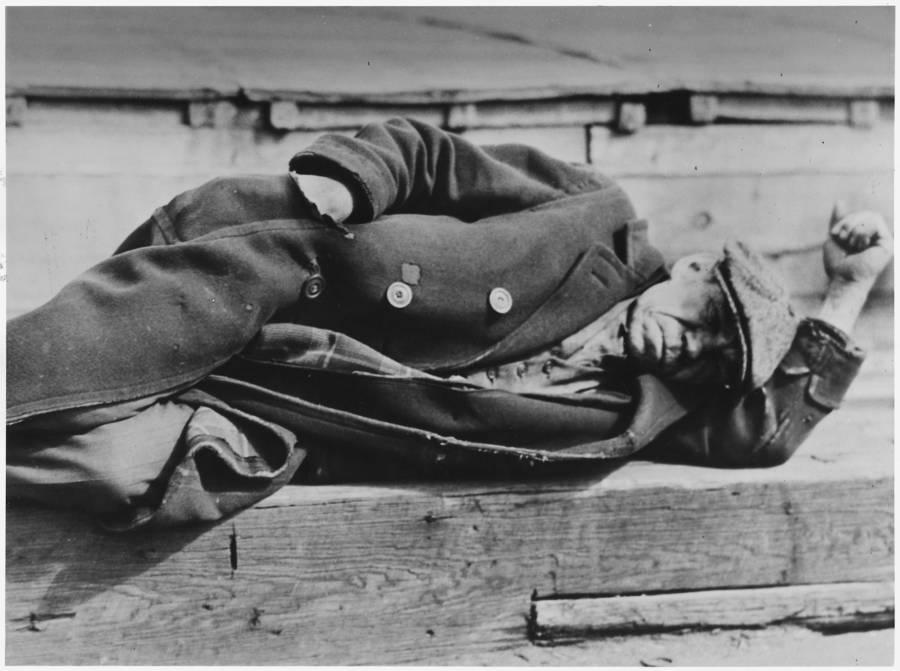 Man Lying Down Hat