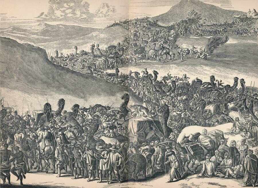 Mansa Musa Traveling