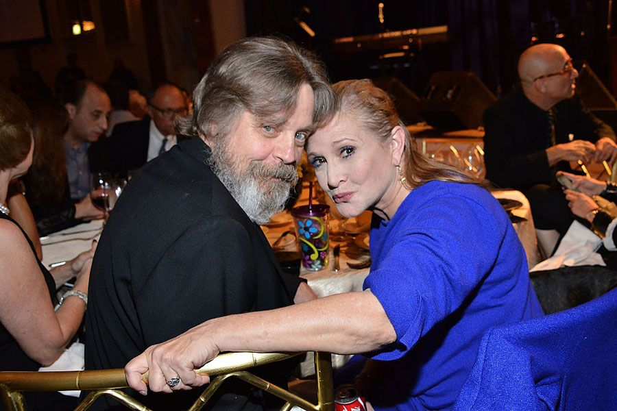 Mark Hamill And Carrie Fisher in 2014