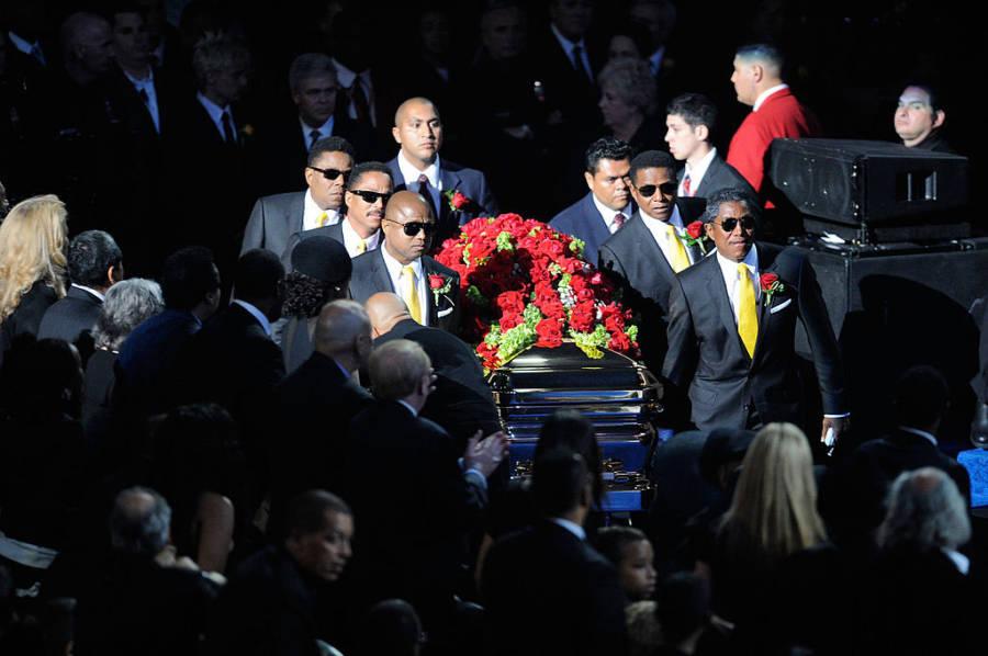 Похороны майкла джексона видео — pic 6