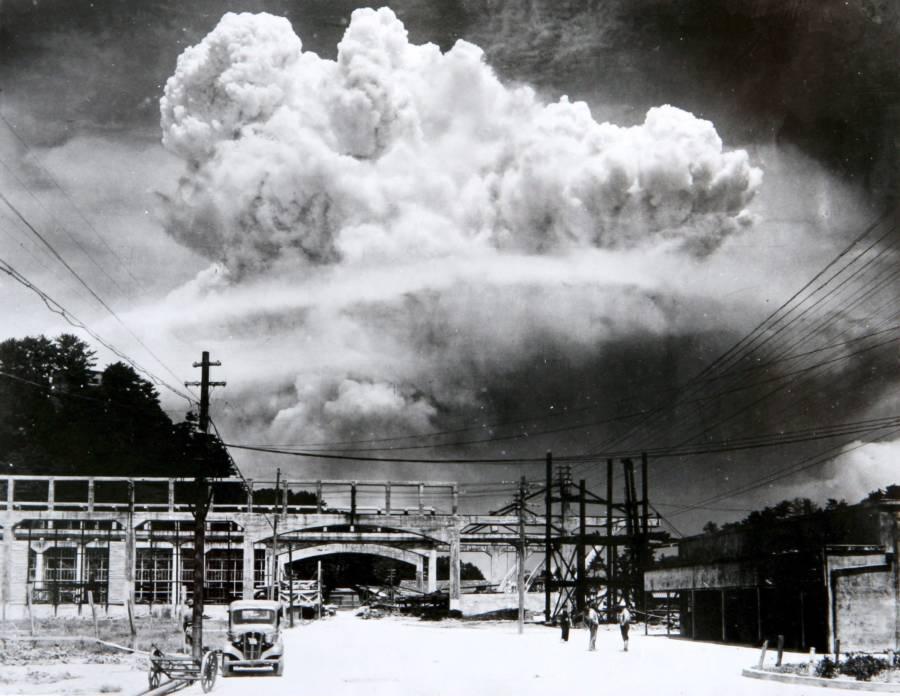 Nagasaki Bombing Cloud