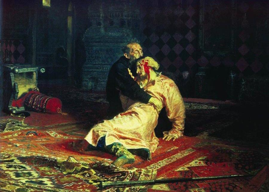Painting Ivan The Terrible