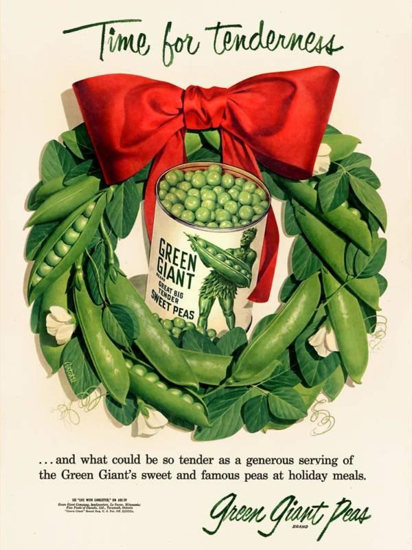 Pea Wreath