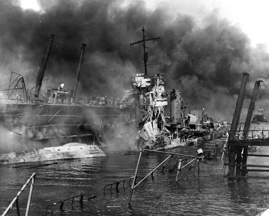 Pearl Harbor Wreckage
