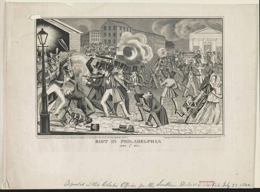 Philadelphia Nativist Riot