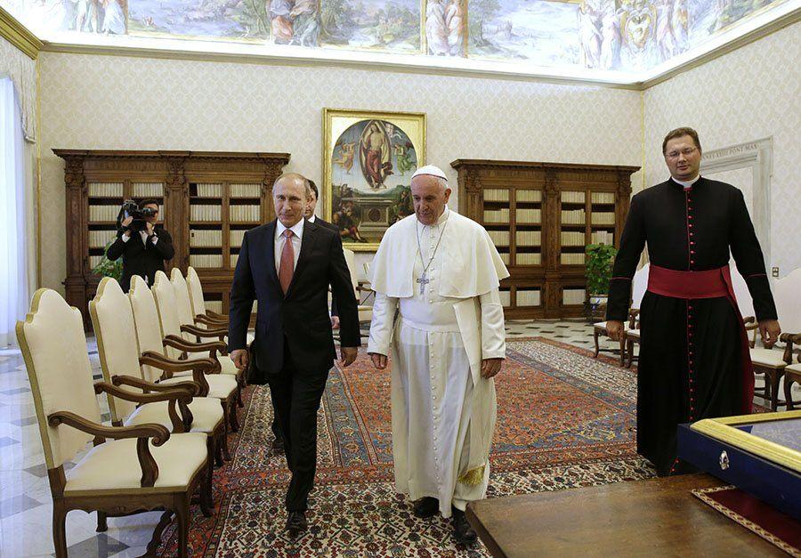 Putin Francis