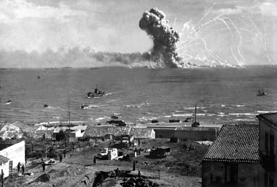 Sicily Explosion