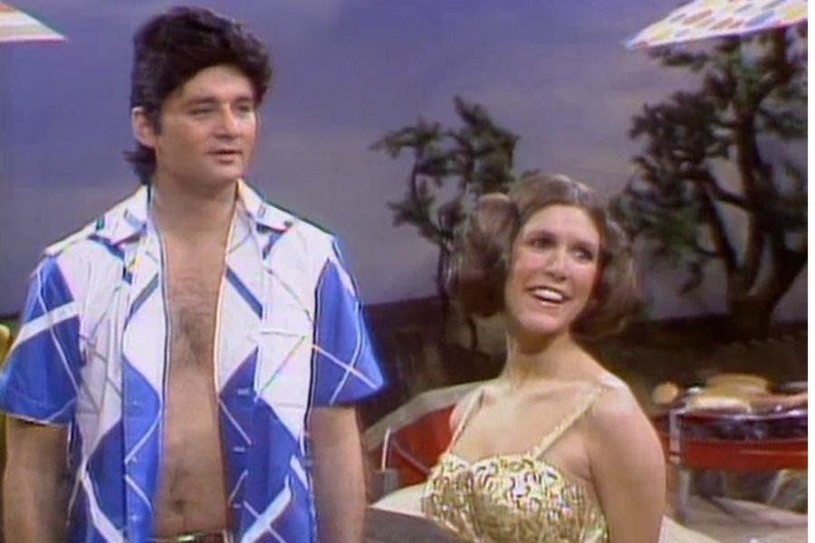 Carrie Fisher On Saturday Night Live In 1978
