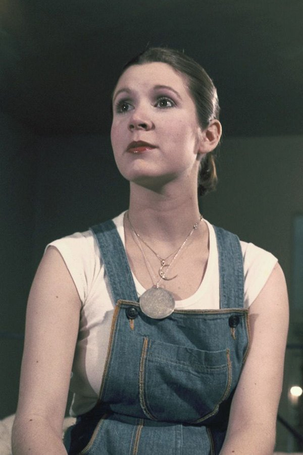 Carrie Fisher Star Wars Test
