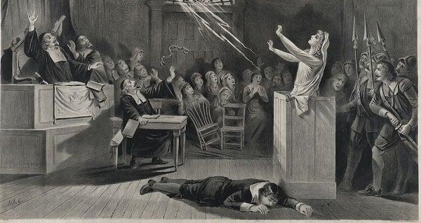 burning witch Spanish inquisition