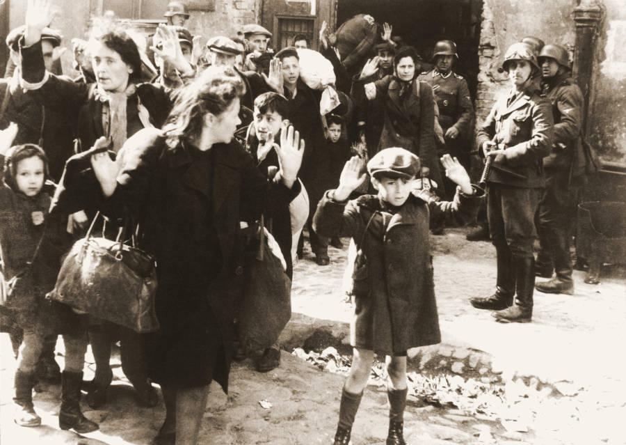 Warsaw Ghetto Uprising Boy