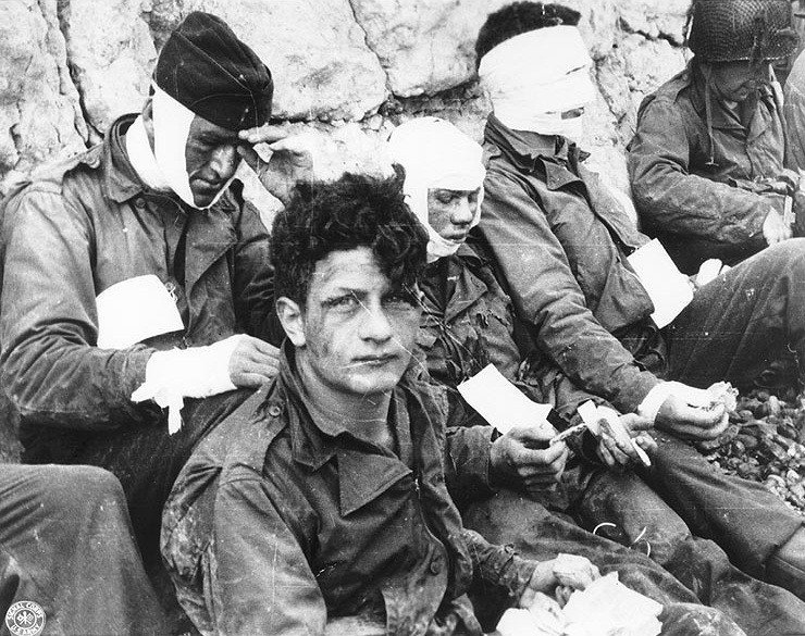 World War 2 Photos Wounded