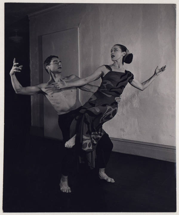 Erick Hawkins And Martha Graham In Dark Meadow