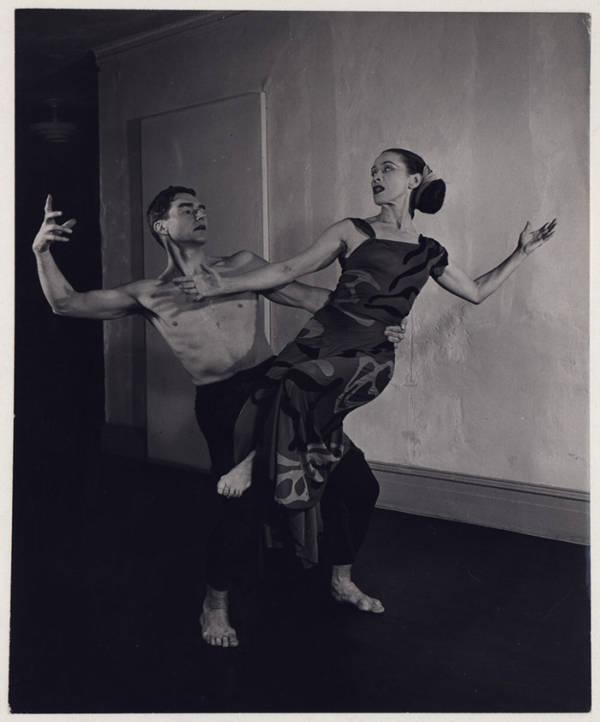 Erick Hawkins And Martha Graham In Dark Meadow