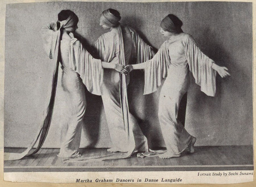 Martha Graham Dancers In Danse Languide