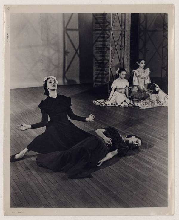 Martha Graham, Jane Dudley, Helen McGehee, Pearl Lang, And Yuriko In Letter To The World