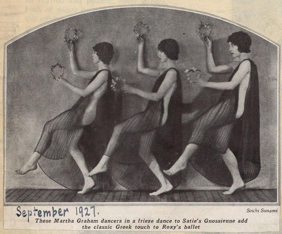 Martha Graham Dancers Performing Satie's Gnossienne