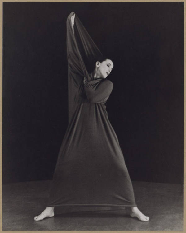 Martha Graham In Lamentation, No. 2