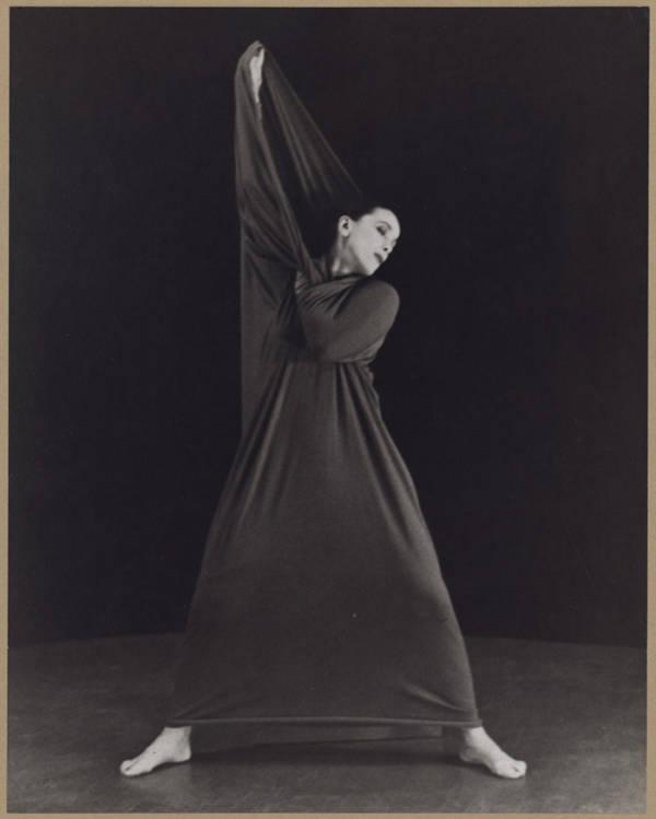 Martha Graham In Lamentation, No. 2