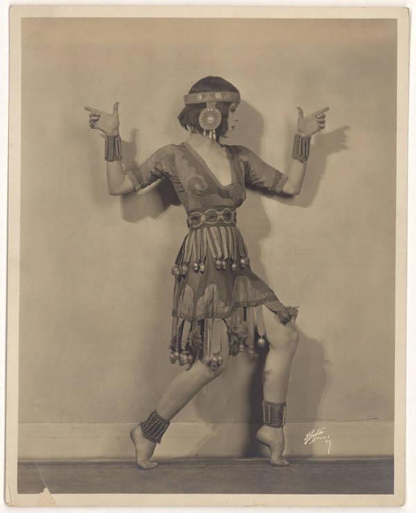 Martha Graham In Xochitl (1919