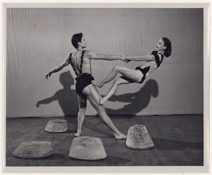 Robert Cohan And Helen McGehee In Cave Of The Heart, No. 2