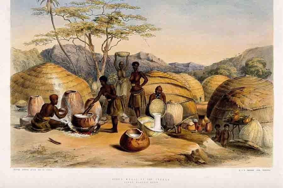 African Brewing Women