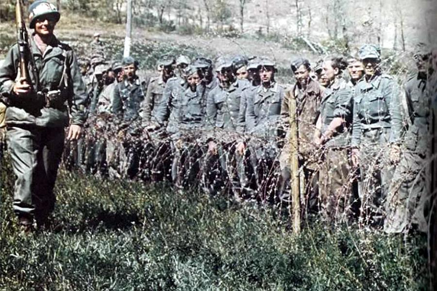 Allied Camp Wire Patrol