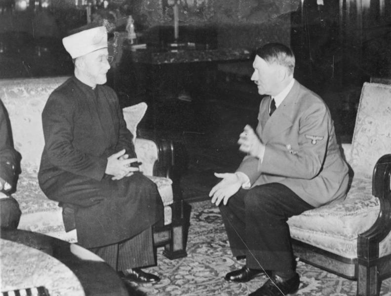 Amin Al Husseini Meets Adolf Hitler