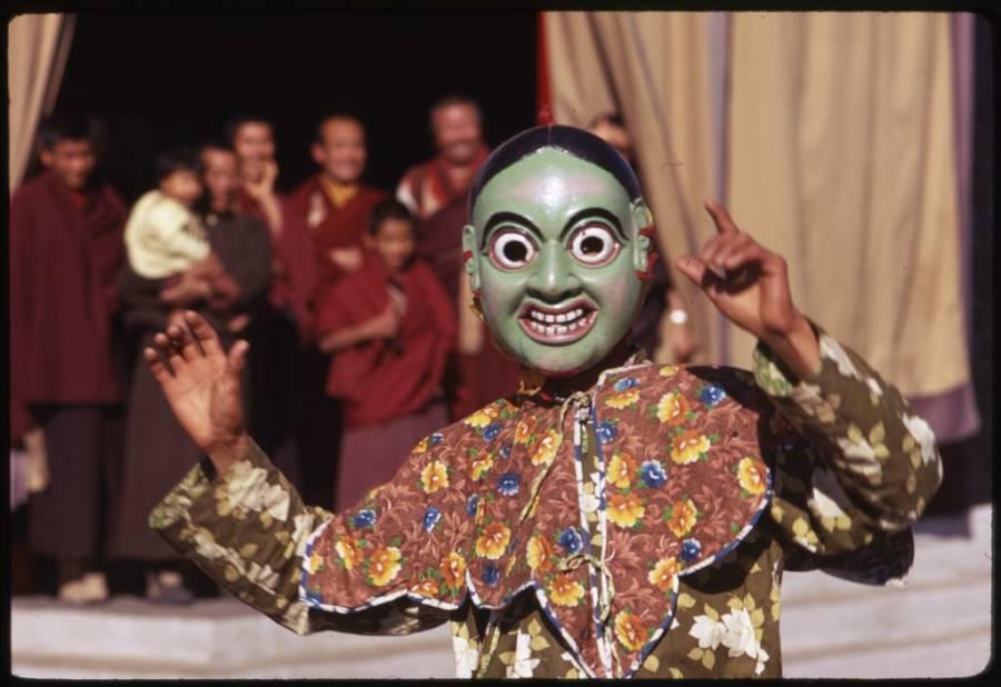 Ceremonial Masked Lama Dances