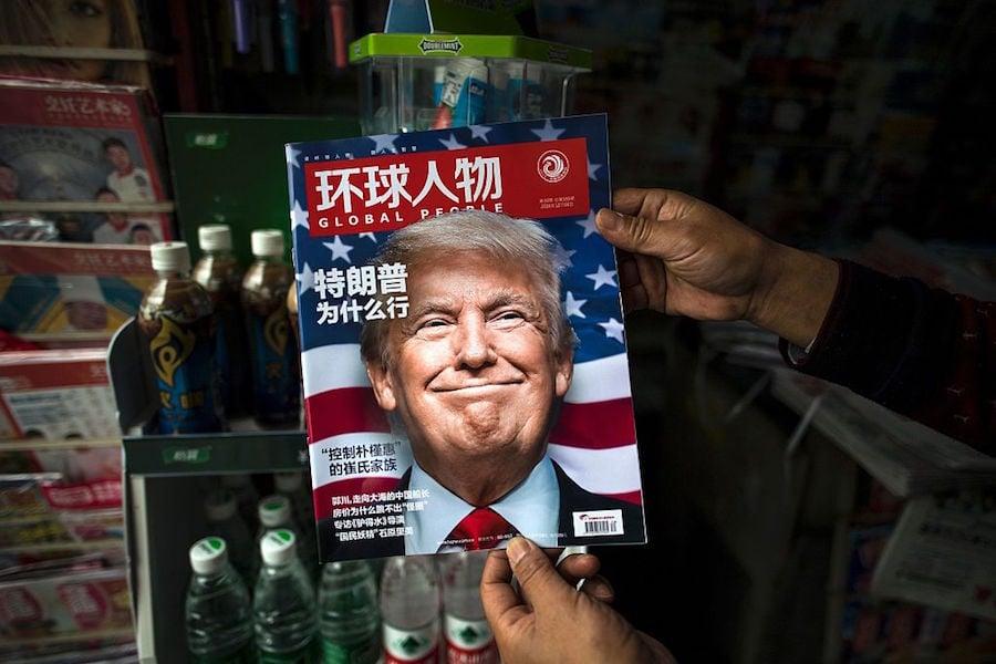 China Trump Big