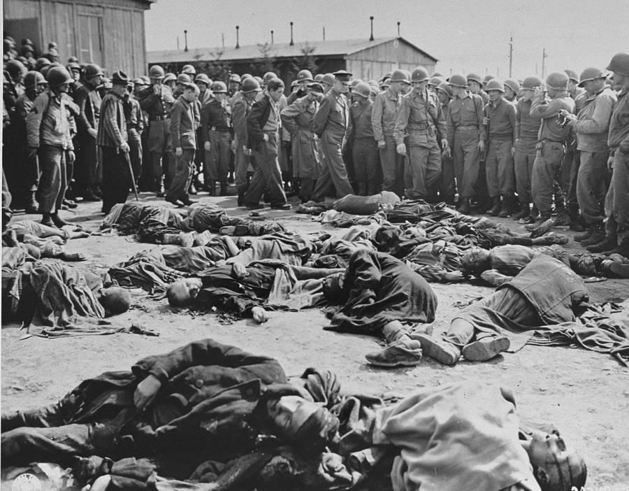 Eisenhower At Concentration Camp