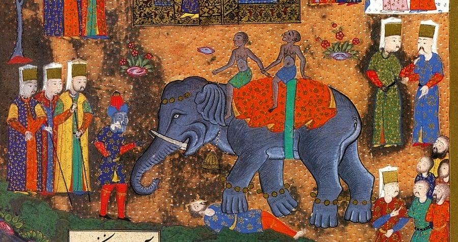 Elephant Stomp Rendering