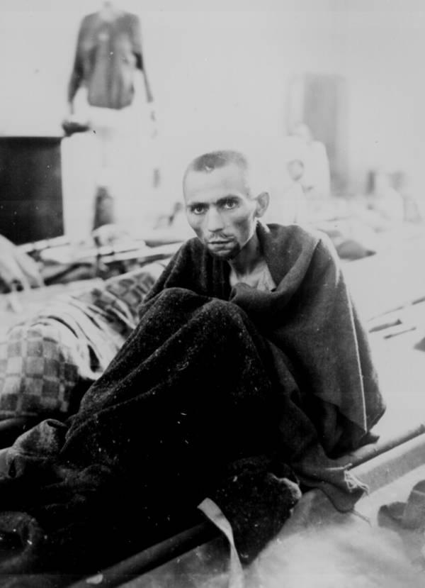 Gaunt Face Of Prisoner