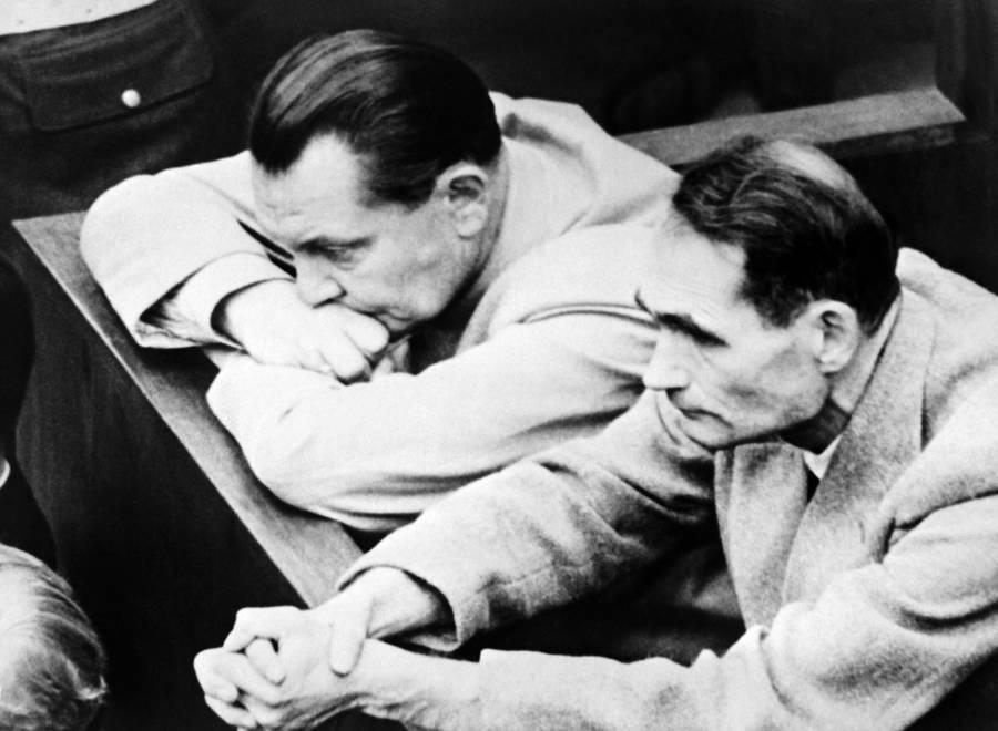 Goering At Nuremberg