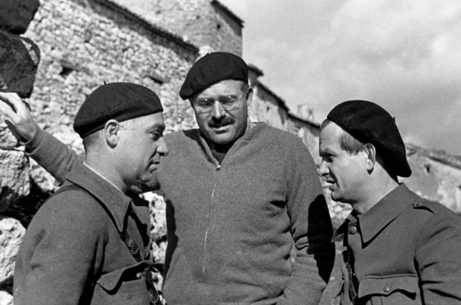 Hemingway Three Men