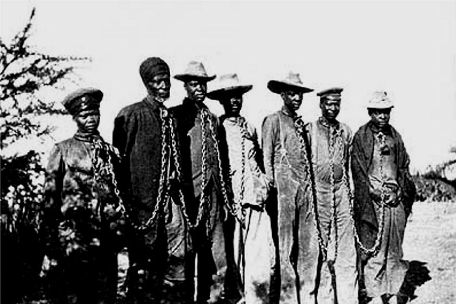 Herero Genocide Slaves Chains