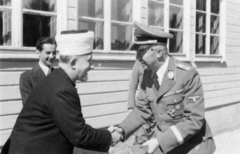 Amin al-Husseini Meet Heinrich Himmler