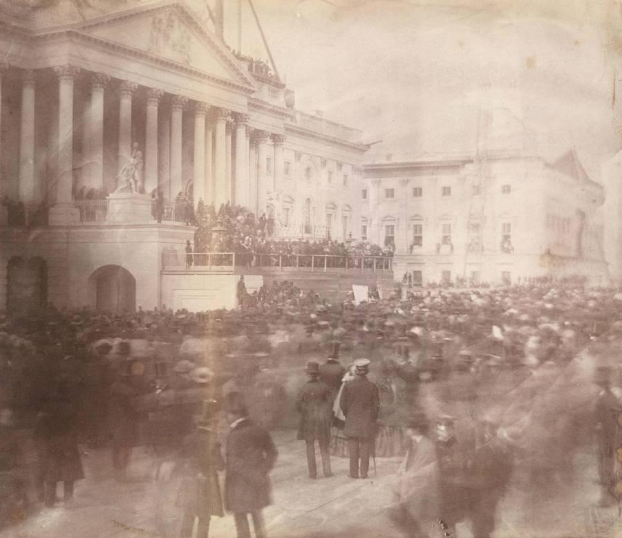 James Buchanan Inauguration