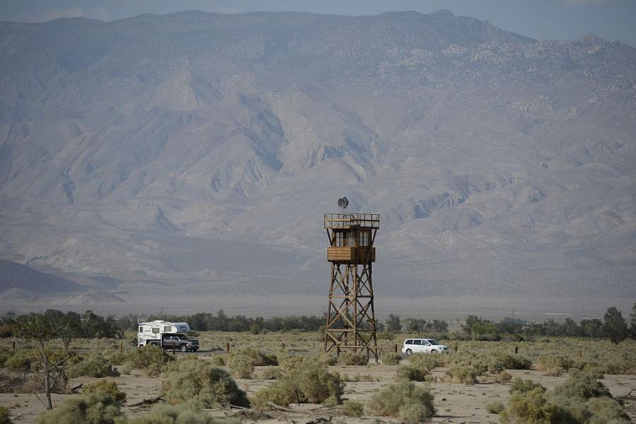 Japanese Internment Guard Tower